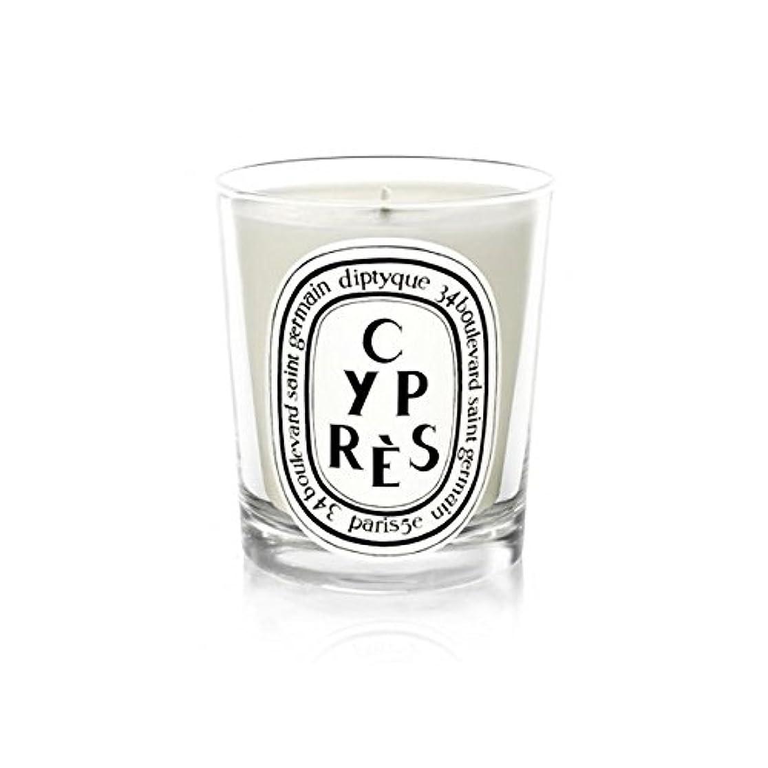 虐殺キャリア満了DiptyqueキャンドルCypr?s/ヒノキ190グラム - Diptyque Candle Cypr?s / Cypress 190g (Diptyque) [並行輸入品]