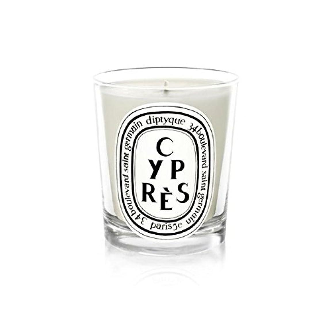 豪華なリップ元に戻すDiptyqueキャンドルCypr?s/ヒノキ190グラム - Diptyque Candle Cypr?s / Cypress 190g (Diptyque) [並行輸入品]