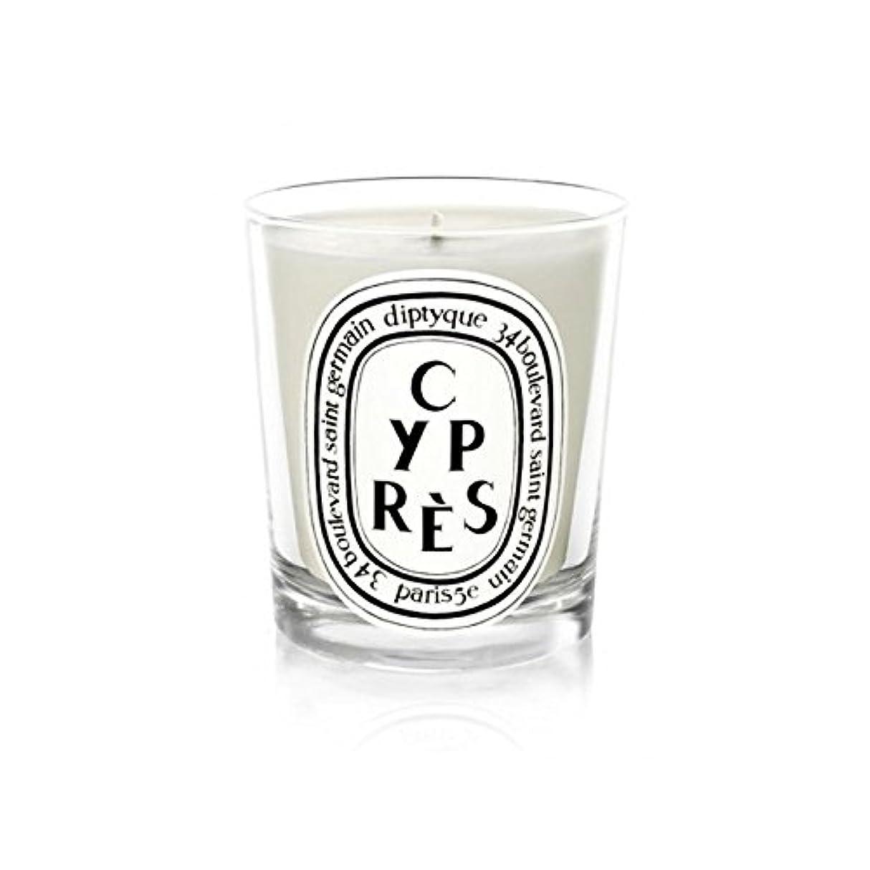カラスシンボルシンボルDiptyqueキャンドルCypr?s/ヒノキ190グラム - Diptyque Candle Cypr?s / Cypress 190g (Diptyque) [並行輸入品]