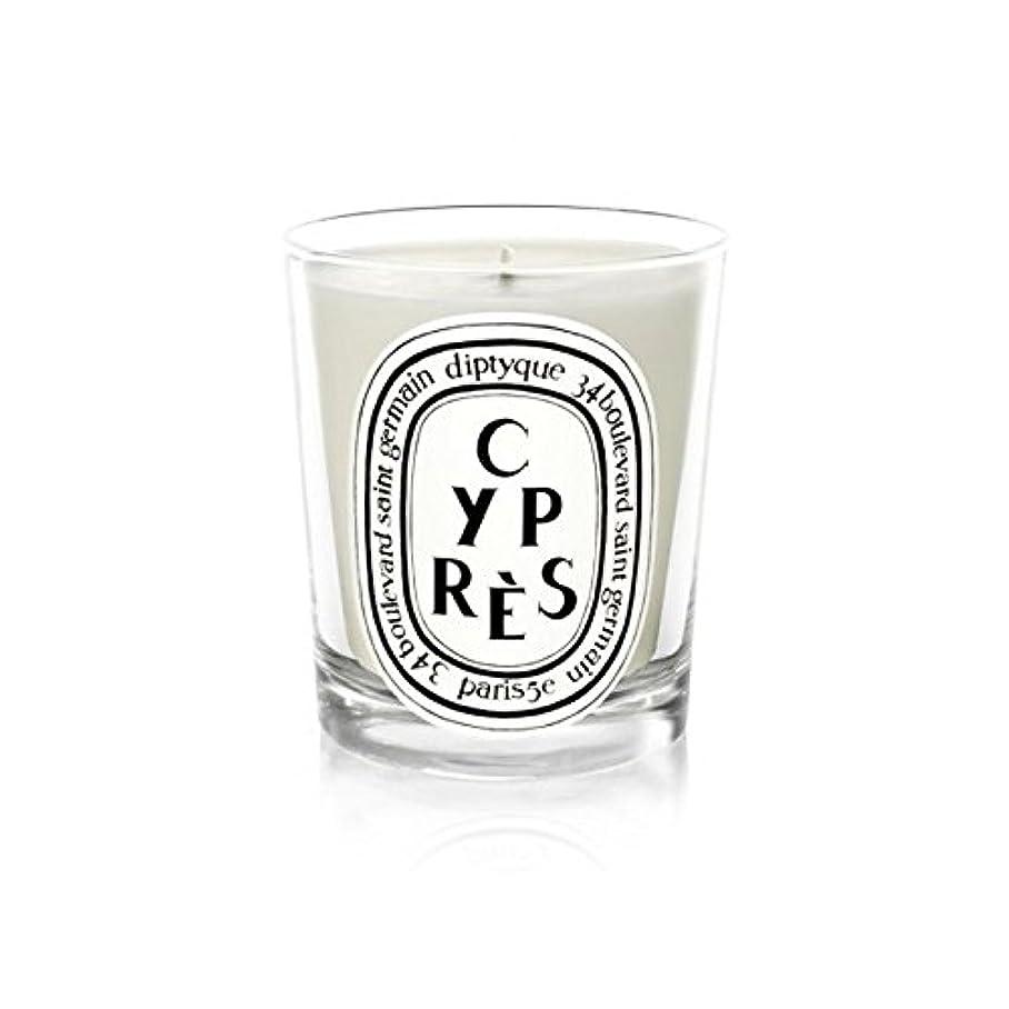 つぶやき引退する支配するDiptyqueキャンドルCypr?s/ヒノキ190グラム - Diptyque Candle Cypr?s / Cypress 190g (Diptyque) [並行輸入品]
