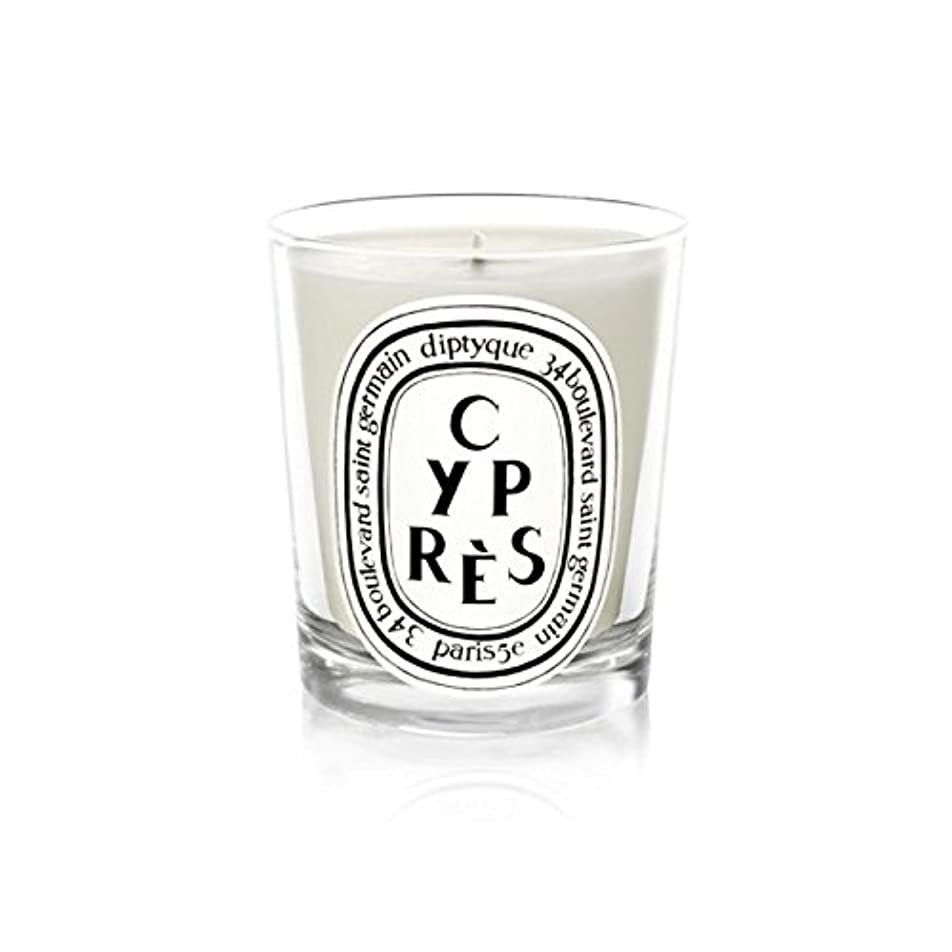 爵黒くする破壊するDiptyqueキャンドルCypr?s/ヒノキ190グラム - Diptyque Candle Cypr?s / Cypress 190g (Diptyque) [並行輸入品]