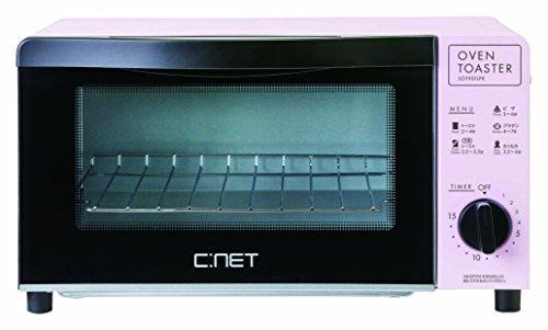 C:NET オーブントースター/ ピンク SOT901LPK