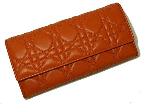 (ディオール)Christian Dior 財布 レディース ミニクラッチウォレット (オレンジ) LADYDIOR CAL43060P-M672U CD-1705 [並行輸入品]