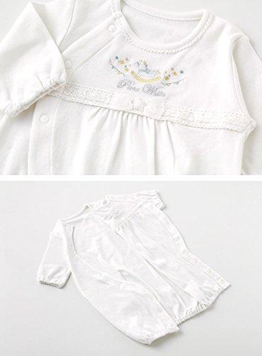 ニシキ P5335 Pure white ピュアホワイト セレモニードレス3点セット 50cm ホワイト