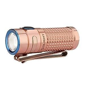 OLIGHT(オーライト) S1R BATON II限定版 銅素材 ハンディライト 1000ルーメン 充電式 フラッシュライト LED懐中電灯 ハンディライト 電池IMR16340