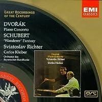 Dvorak: Piano Concerto; Schubert: 'Wanderer' Fantasy / Richter, Kleiber