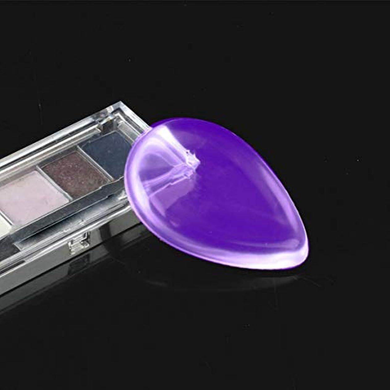 敬礼時制歯痛インターコリークリアコスメティックメイクアップファンデーションシリコーンジェルパフ透明化粧品美容ツールゼリーパフ透明ドロップパフ