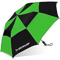 Dunlop Double Canopy Two-Person Umbrella-56dc-dl Blkgrn