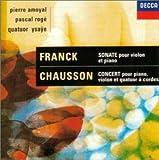 ショーソン / ヴァイオリン、ピアノと弦楽四重奏のためのコンセール ニ長調 作品21