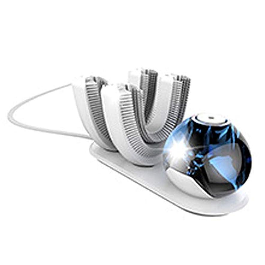 ヘッドレス喜ぶつなぐ電動歯ブラシ、U字型歯ブラシの頭、超音波歯ブラシ、ワイヤレス充電音波歯ブラシ、防水IPX7