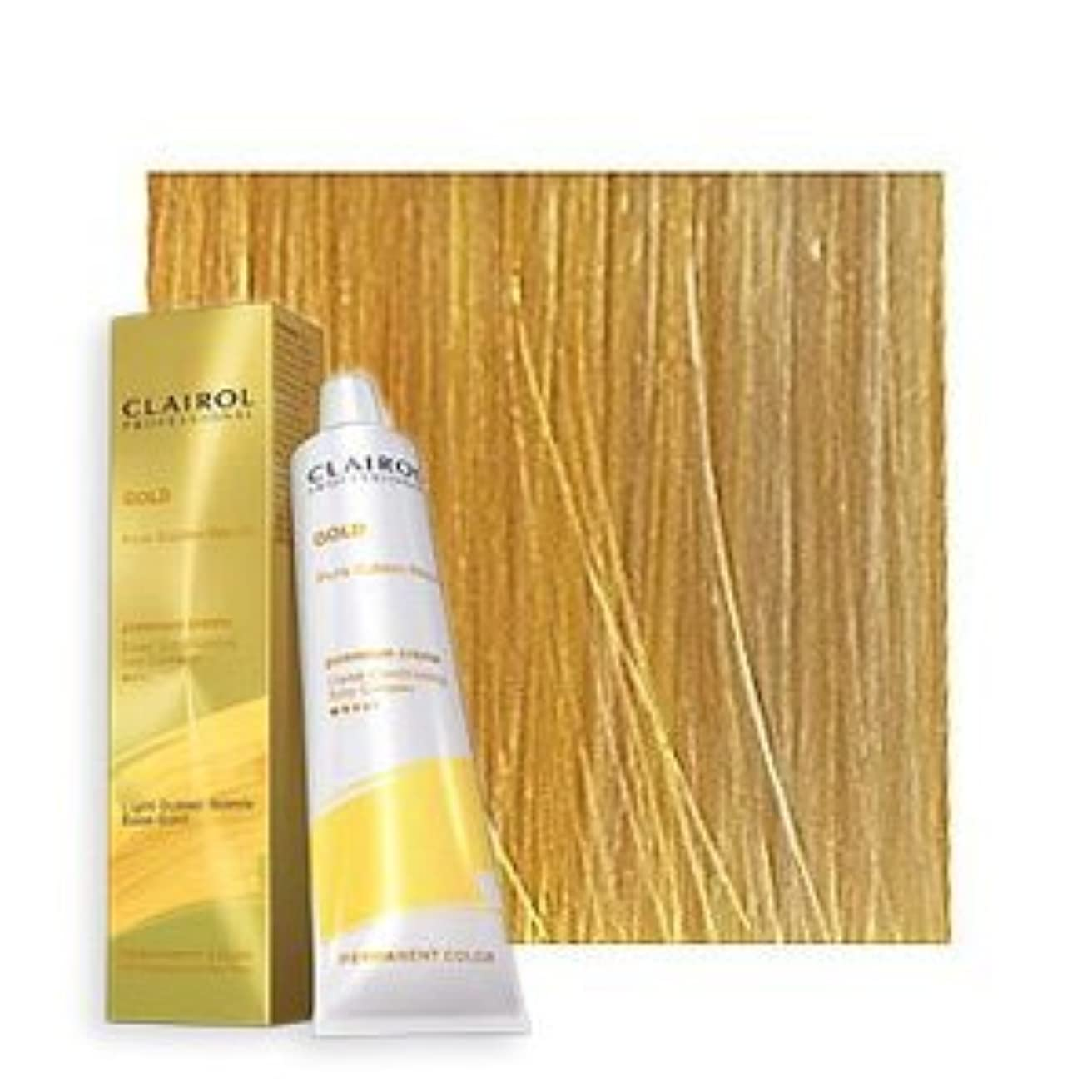 基本的なその他鎮静剤Clairol Professional - SOY4PLEX - Lightest Golden Blonde 10G - 2 oz / 57 g