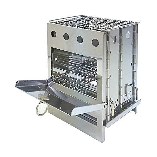 BUNDOK(バンドック) ボックス ストーブ BD-470 焚火台 キャンプ ツーリング