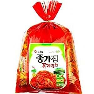 韓国食品【韓国宗家・白菜キムチ】全ての薬味から白菜まで韓国産材料のみ使用 5kg