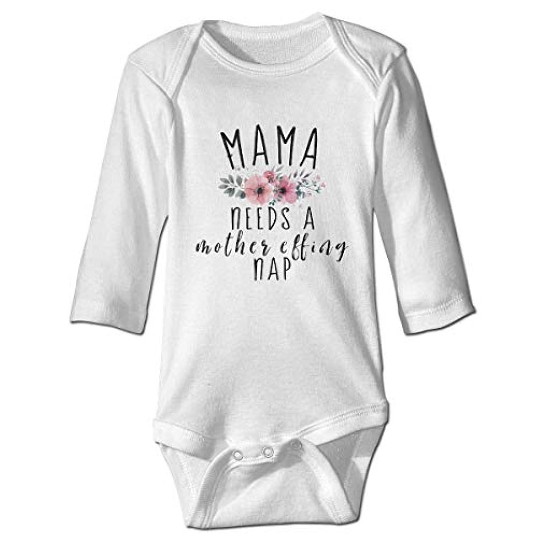 オアシスドリンク貯水池ママは、母のEffing昼寝赤ちゃんボディースーツユーモアワンシーコットン衣装コスチューム、6 Mが必要
