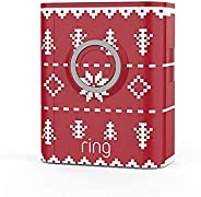 Ring Video Doorbell 3 and Ring Video Doorbell 3 Plus Holiday Faceplate - Christmas