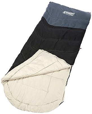 Coleman Mudgee C0 Tall Sleeping Bag, Black