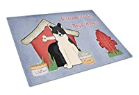Carolines Treasures BB2783LCB Dog House Collection Russo-European Laika Spitz Glass Cutting Board, Large