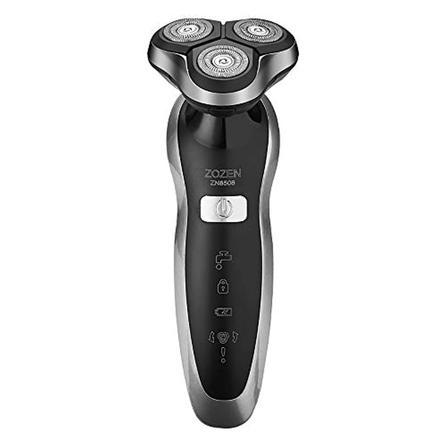 悲劇的な没頭する密輸充電式メンズひげナイフを洗浄メンズ電気シェーバーかみそり、電気かみそり2019新しい電気シェーバー4D