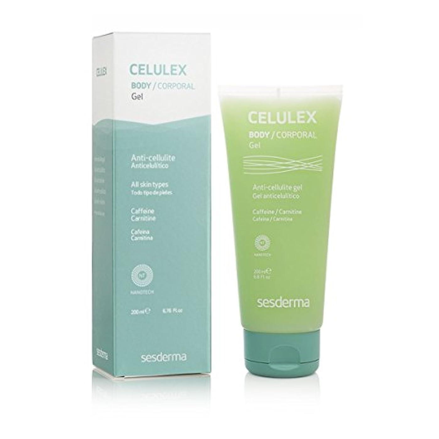 クレタ適用する同盟Sesderma Celulex Anti-cellulite Gel 200ml [並行輸入品]