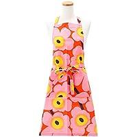 マリメッコ エプロン ピエニ ウニッコ Pieni Unikko Apron (カラー:orange, pink, yellow/230) Marimekko [並行輸入品]