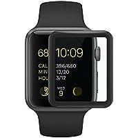Apple Watch 38MM フィルム COLIN【series 3 専用】Apple Watch Series 3 フィルム 3D 全面保護 38MM 旭硝子製 国産素材 ウォッチ シリーズ3 強化ガラスフィルム (38mm)