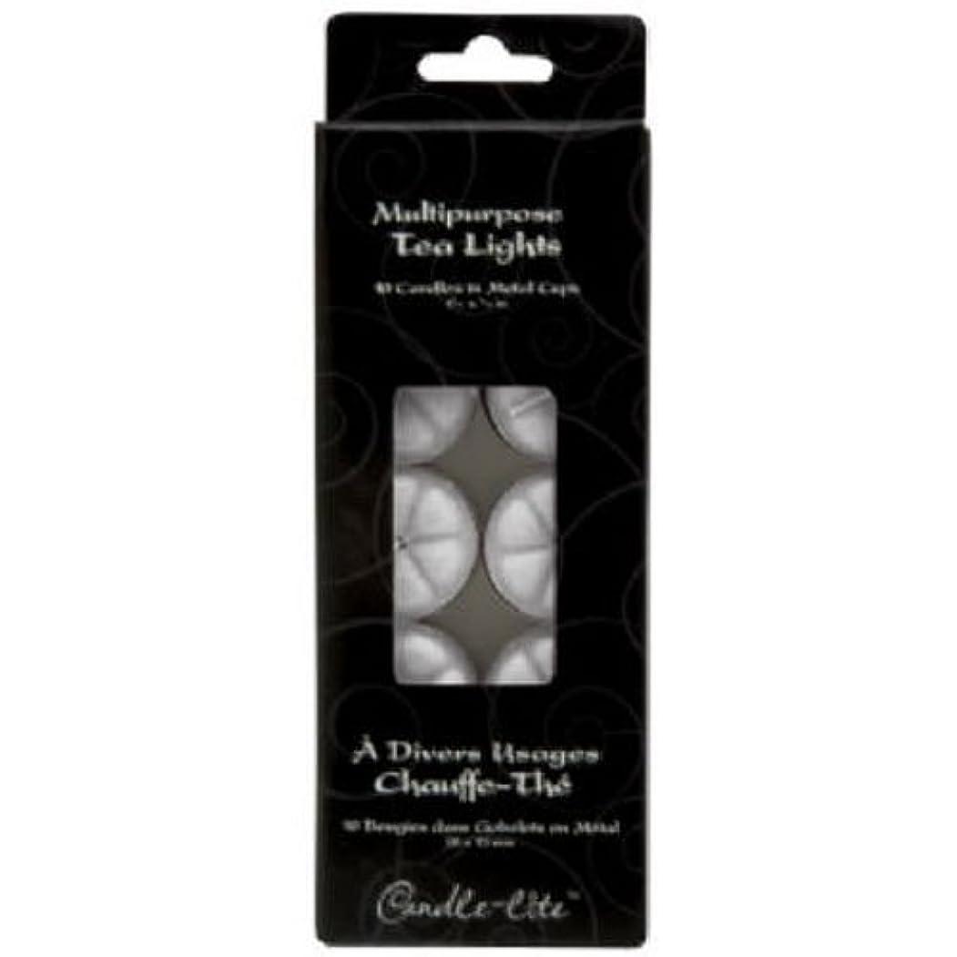 白い支援する自己尊重Tea Light Candles 10-Count (並行輸入品)
