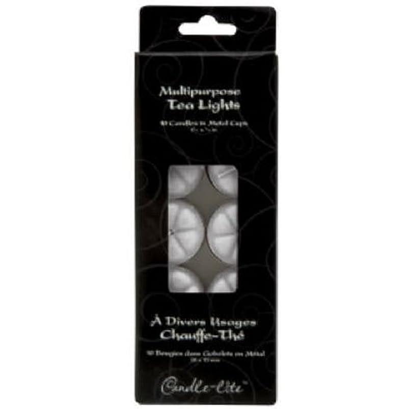 伴う言い聞かせる暴露するTea Light Candles 10-Count (並行輸入品)