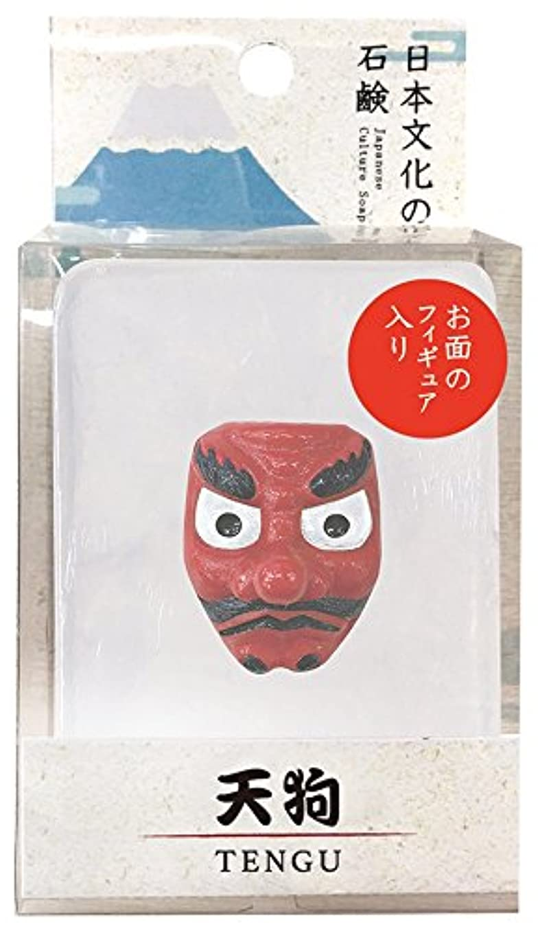 マトリックス司書立場ノルコーポレーション 石鹸 日本文化の石鹸 天狗 140g フィギュア付き OB-JCP-1-5