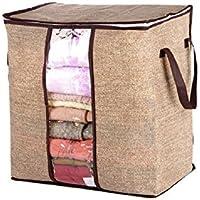 布団 収納袋  衣類収納袋 大サイズ 持ち手付き 出し入れ簡単 通気性が良い 湿気 ホコリ 汚れ防止 手洗い