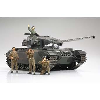 タミヤ 1/25 デラックスシリーズ No.14 イギリス陸軍中戦車(ディスプレーキット) センチュリオン MK.III (キャタピラ未組立)30614