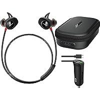 Bose SoundSport Pulse Bluetoothワイヤレススポーツハートレートインナーイヤーヘッドホンセットwith Bose充電ケース& iOttie RapidVOLT Micro USB車充電器 [並行輸入品]