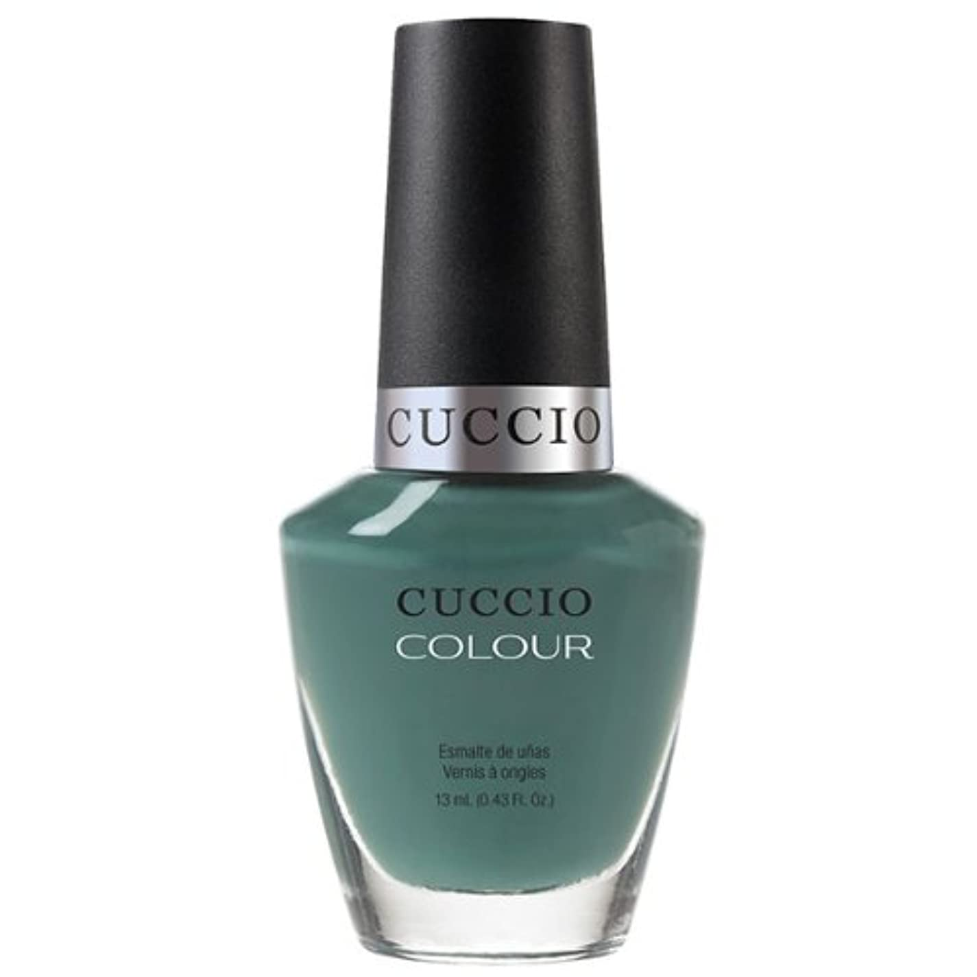 混乱させる欠伸ライオネルグリーンストリートCuccio Colour Gloss Lacquer - Dubai Me an Island - 0.43oz / 13ml