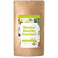 Natural Healthy Standard. ミネラル酵素スムージー乳酸菌グリーンフルーティー風味 160g