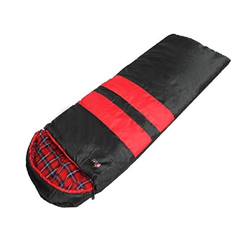 ラテン基礎理論クラシカルNekovan キャンプ封筒寝袋軽量ポータブル防水コンフォートコットンフランネル冬の旅行ハイキングアウトドアアクティビティ