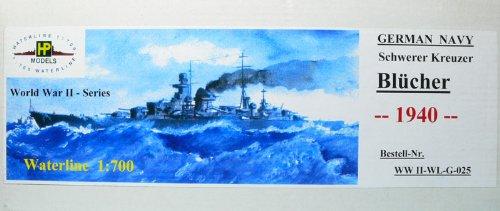 1/700 独海軍重巡 ブリュッヒャー 1940