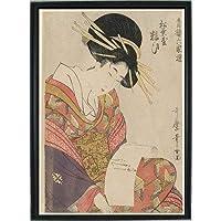 喜多川歌麿 ポスター 美人画 グッズ 浮世絵 雑貨 インテリア 絵画 美術 アート