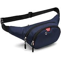 [ベベルクローゼット] ウエストバッグ ウエストポーチ ヒップバッグ ボディバッグ メンズ 軽量 大容量 イヤホンホール付き