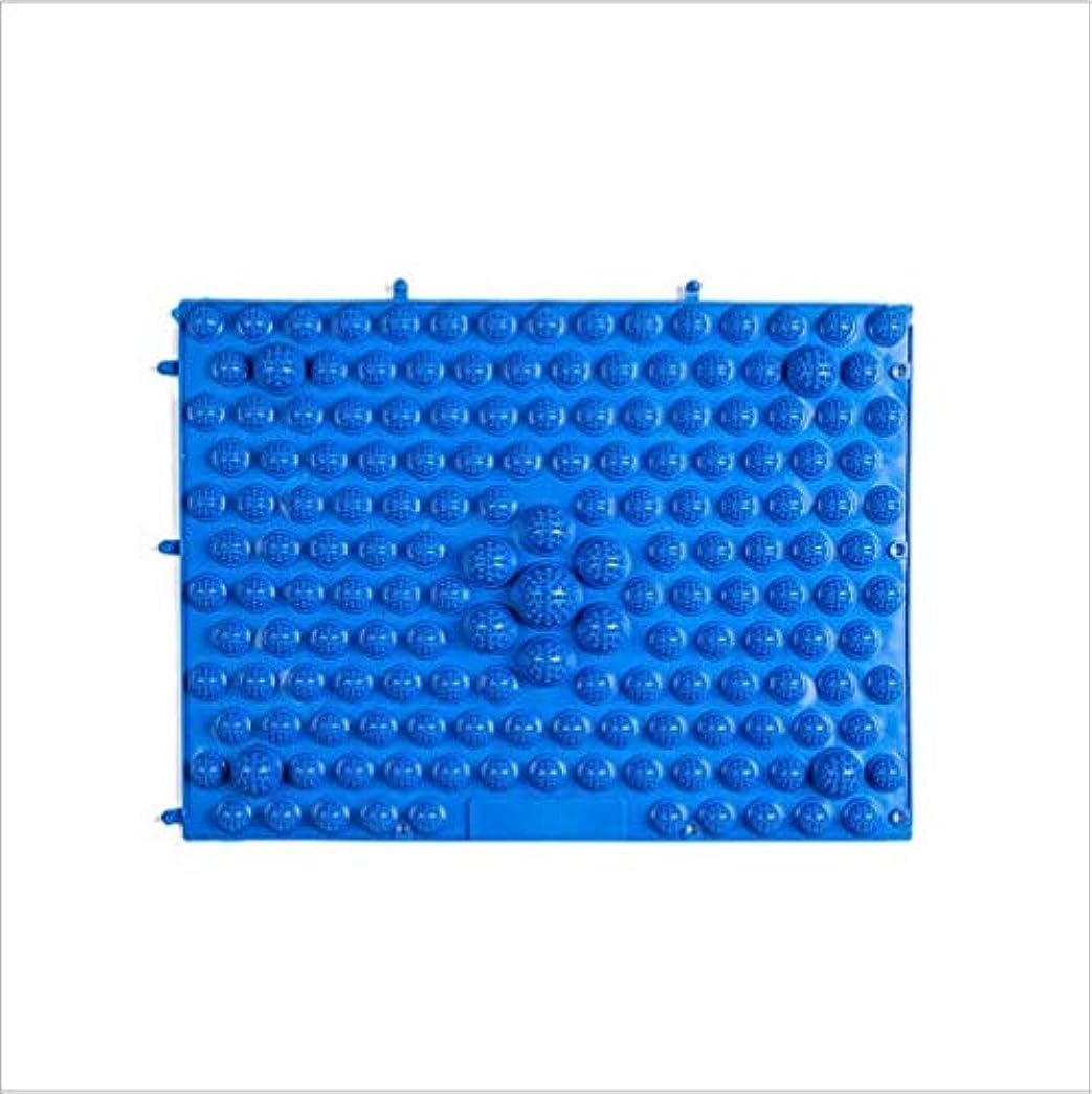 ターミナルしつけ重くするウォークマット 裏板セット(ABS樹脂製補強板付き)(ブルー)