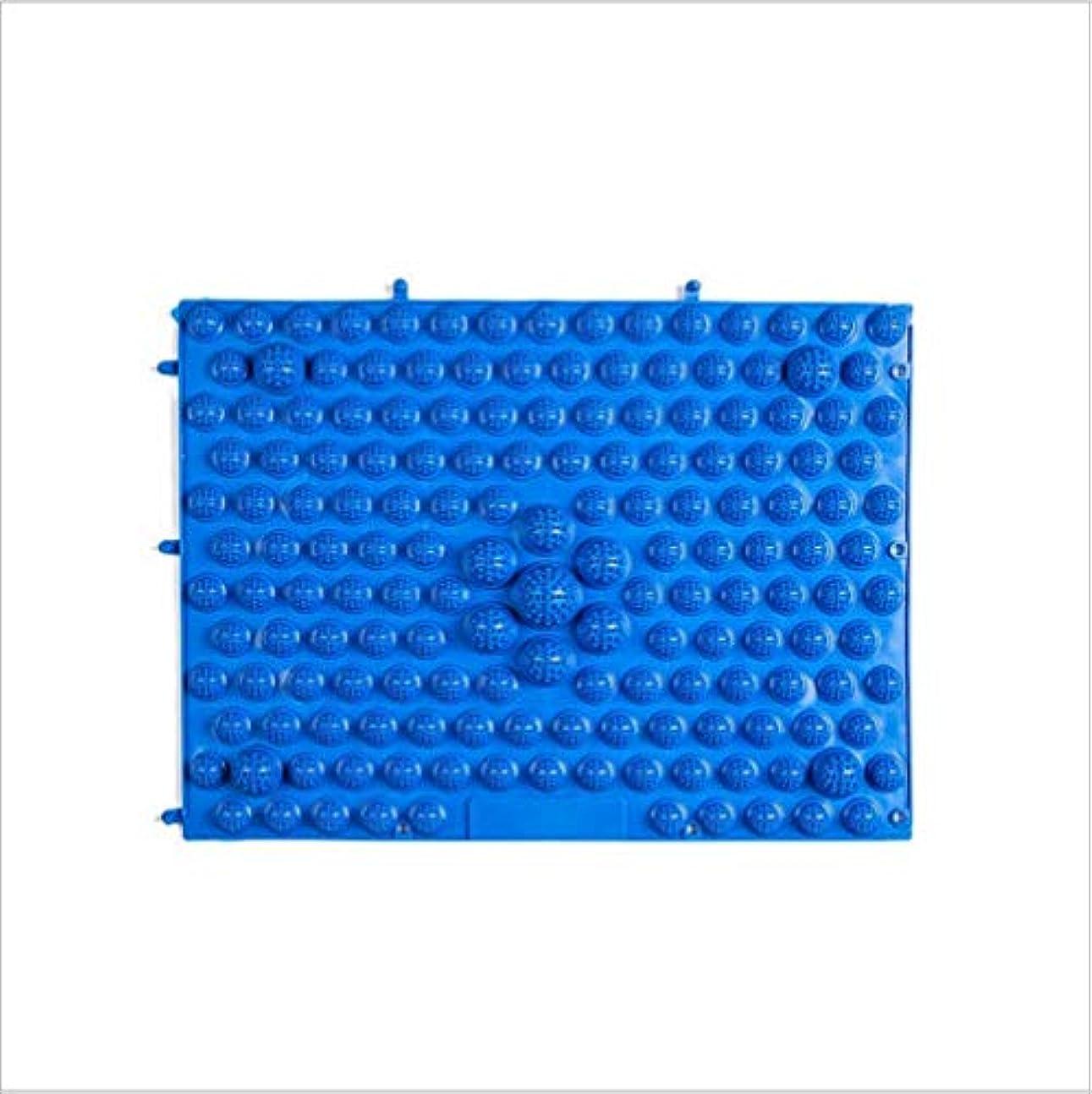 手順美容師司書ウォークマット 裏板セット(ABS樹脂製補強板付き)(ブルー)