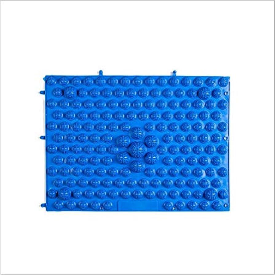 対応する限定ペデスタルウォークマット 裏板セット(ABS樹脂製補強板付き)(ブルー)