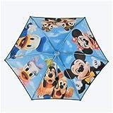 東京ディズニーリゾート 実写 晴雨兼用傘 折り畳み傘 日傘 ミッキー ミニー ドナルド デイジー チップ&デール プルート グーフィー