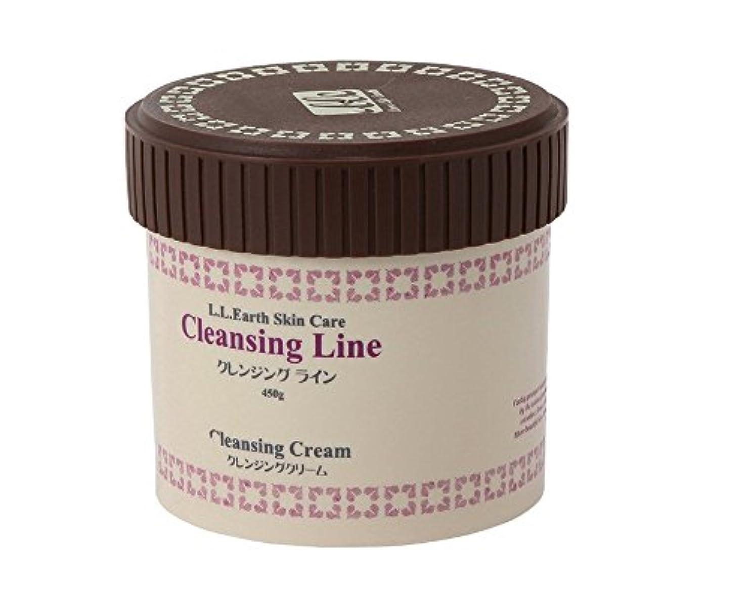 寄付するインタフェース温室LLE 業務用 クレンジングクリーム 450g ( メイク落とし 拭き取り?洗い流し両用 ) C