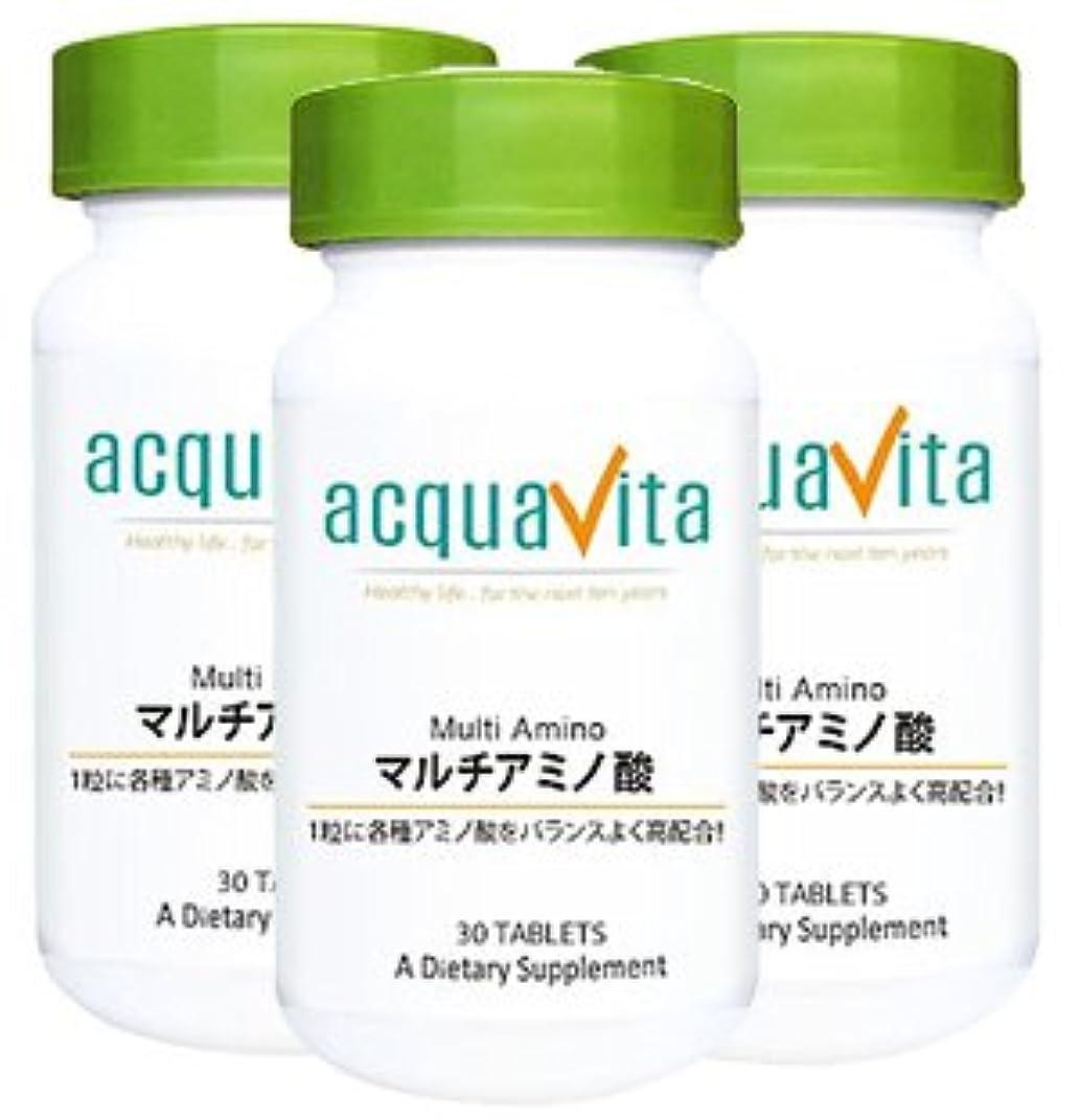 リークグローバルセイはさておきアクアヴィータ マルチアミノ酸(アクアビータ?Acquavita)【3本セット】