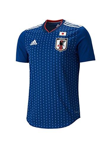 アディダス 予約 2018 adidas サッカー日本代表 HOME オーセンティック ユニフォーム 半袖 ナイトブルー×ホワイト M