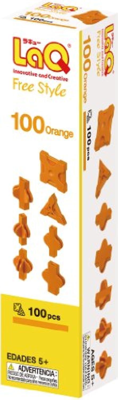 ラキュー (LaQ) フリースタイル(FreeStyle) 100オレンジ