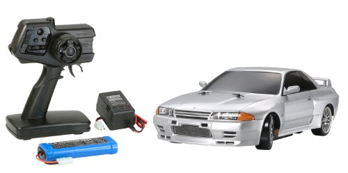 1/10 XBシリーズ No.83 XB スカイライン GT-R (R32) (TT-01D) 2.4GHz プロポ付き塗装済み完成品 57783