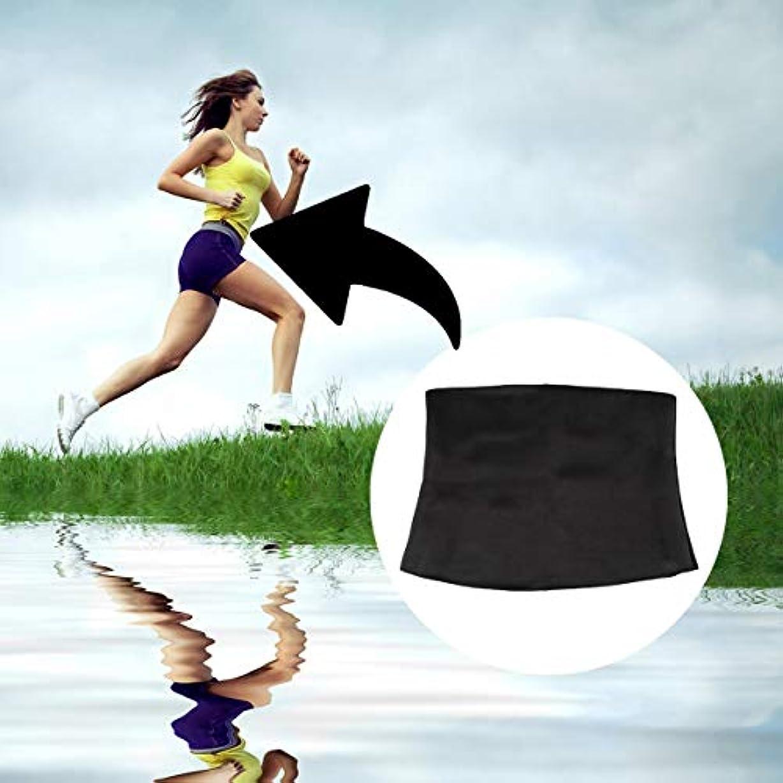 ストライプひばり小間Women Adult Solid Neoprene Healthy Slimming Weight Loss Waist Belts Body Shaper Slimming Trainer Trimmer Corsets