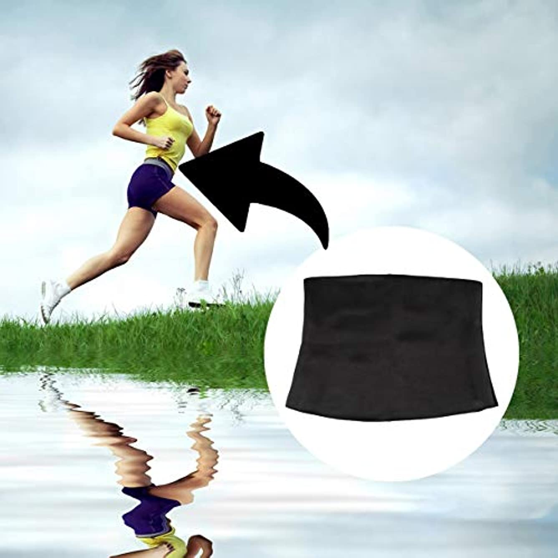 ピューブローホール揺れるWomen Adult Solid Neoprene Healthy Slimming Weight Loss Waist Belts Body Shaper Slimming Trainer Trimmer Corsets