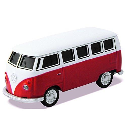 [해외]오토 드라이브 USB 메모리 Volkswagen Classical Bus 레드 16GB/Auto Drive USB Memory Volkswagen Classical Bus Red 16 GB