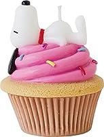 カメヤマキャンドルハウス スヌーピーカップケーキキャンドル ベリー(ストロベリーの香り)
